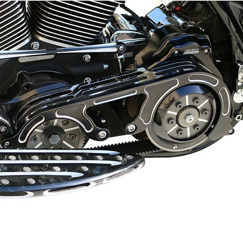 【Belt Dlive】 2インチ ベルトドライブ キット ブラック 2007~2013 ツーリング