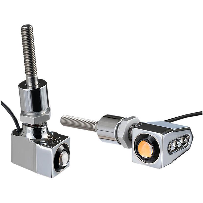JOKER MACHINE 新品 ジョーカーマシン シングルRat Eye 2020-1446 クローム ウインカー ミラーマウント 返品交換不可
