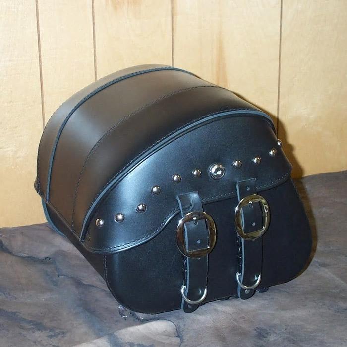 【Leather Pros】 トランク バッグ リッドスタッズ付