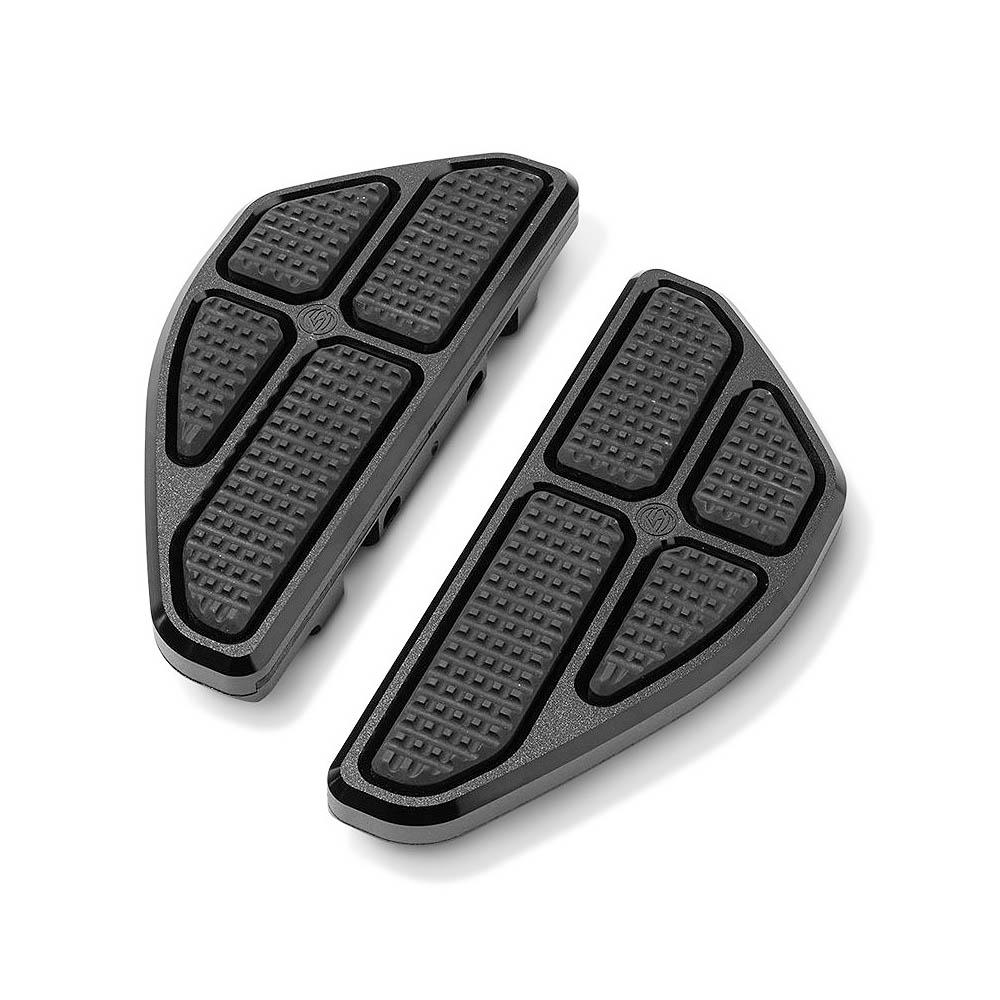 Roland Sands Design ローランドサンズ RSD BOSS パッセンジャーフロアボード ブラック 0036-1012-SMB 2012~2016 1999~2020 着後レビューで 送料無料 FLソフテイル ツーリング 2000~2017 FLD 大幅にプライスダウン
