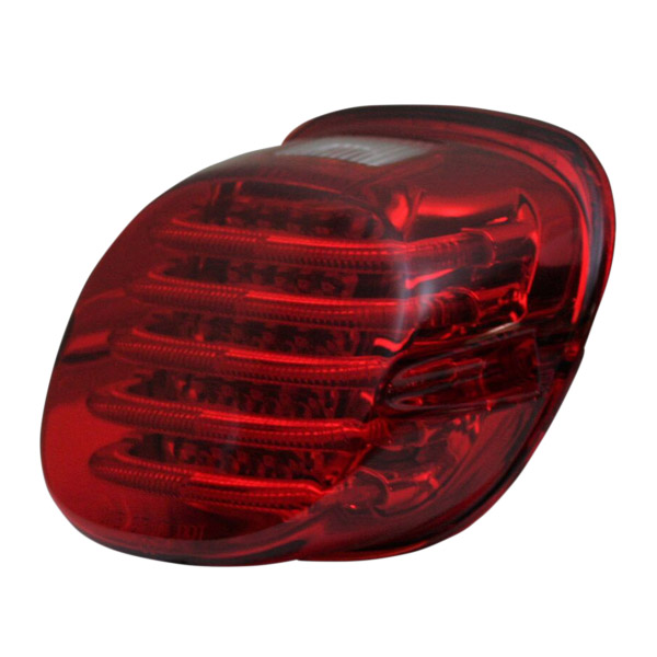 【カスタムダイナミクス】 PROBEAM LEDテールライト レッド ナンバー用ウィンドウ付 2010-1362