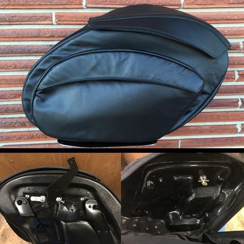 【Leather Pros】レトロV2 レザーサドルバッグ ダイナ