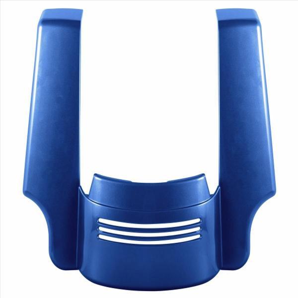 【ホグ ワークス】 4インチ Tri-Bar フェンダーエクステンション スーペリアブルー 2009~2020 ロードグライド、ストリートグライド HW106146