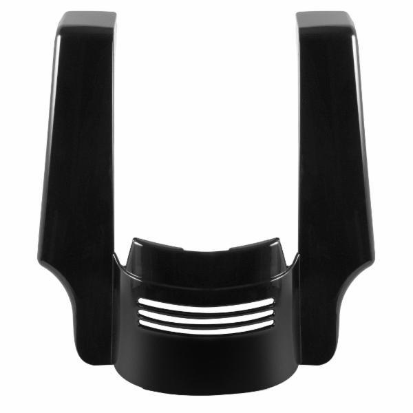 【ホグ ワークス】 4インチ Tri-Bar フェンダーエクステンション ビビッドブラック ロードグライド、ストリートグライド HW106148