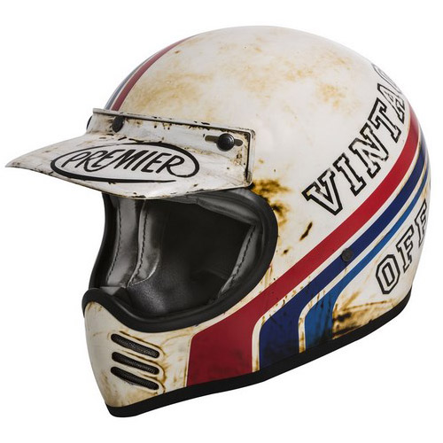 【PREMIER】 MX BTR 8 BM フルフェースヘルメット