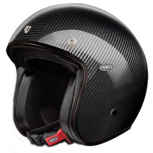 【PREMIER】 プチ クラシック オープンフェースヘルメット カーボン