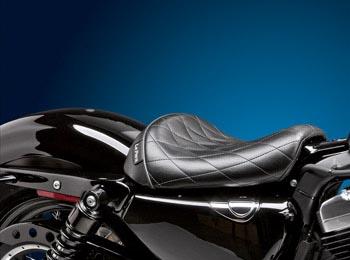【ラペラ】 ベアボーンズ ソロシート ダイアモンドスティッチ 2011~2020 XL1200X/S、XL1200V LK-006DM