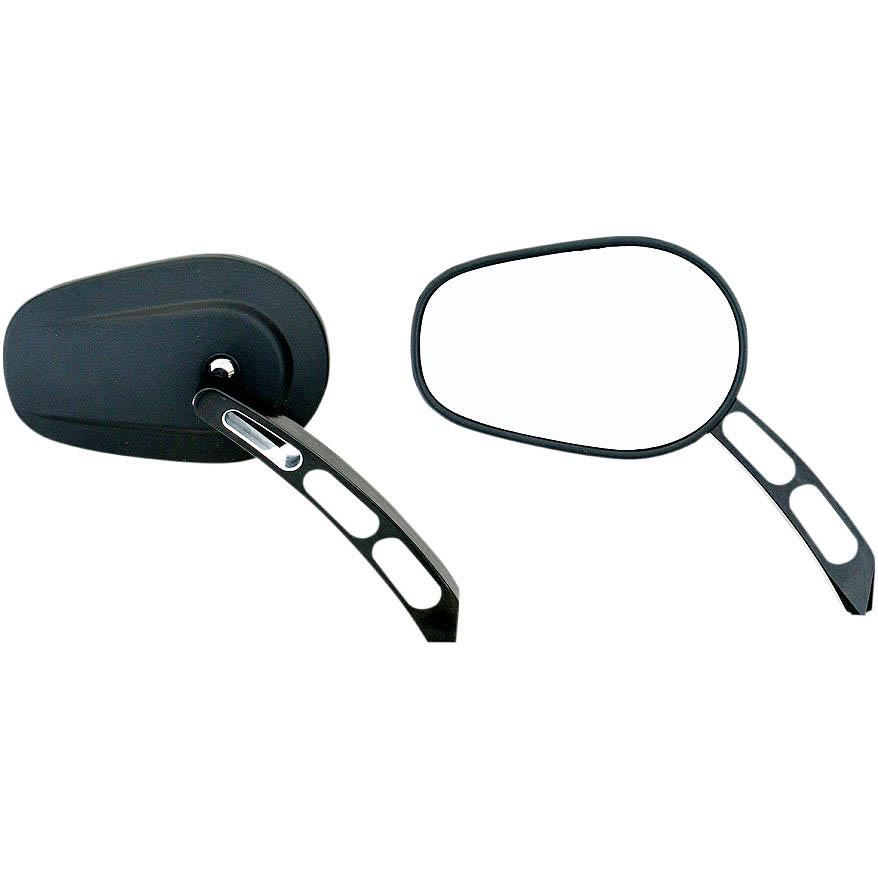 【リブコ】 ビレットミラー ブラック 0640-1303