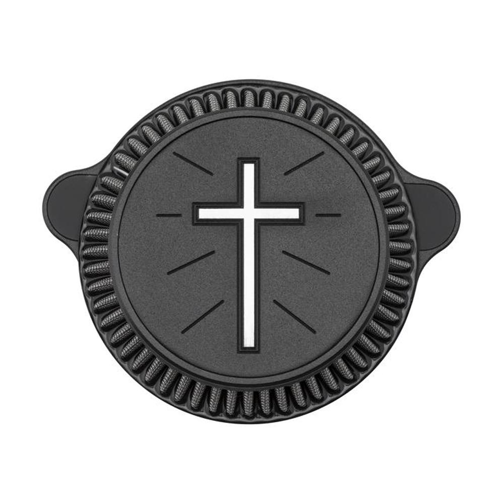 【LAチョッパーズ】 スタンダードクロス エアクリーナー ブラック 1010-2280