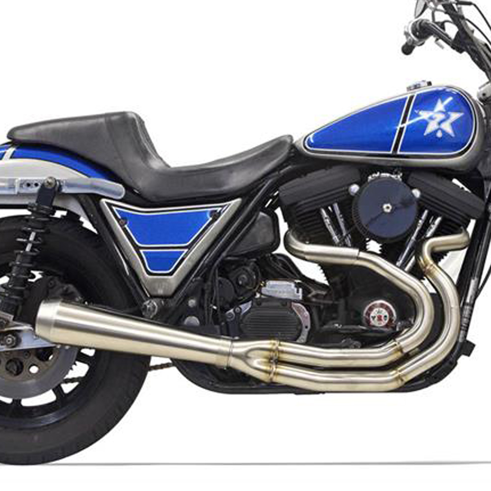 【バッサーニ】 High Horsepower ROADRAGE 2into1マフラー ローカラー 1800-2230