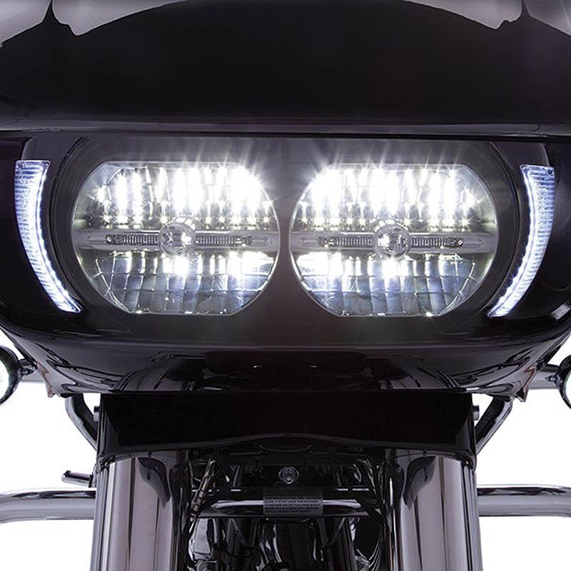 【CIRO】 Fang LEDヘッドライトベゼル ブラック