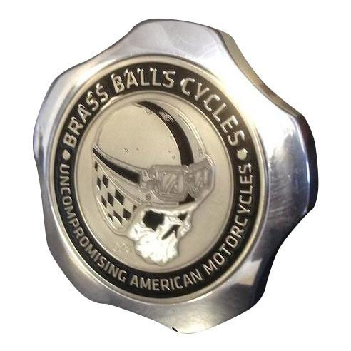 【Brass Balls Cycles】 CHALLENGE COIN FUEL CAP ポリッシュ