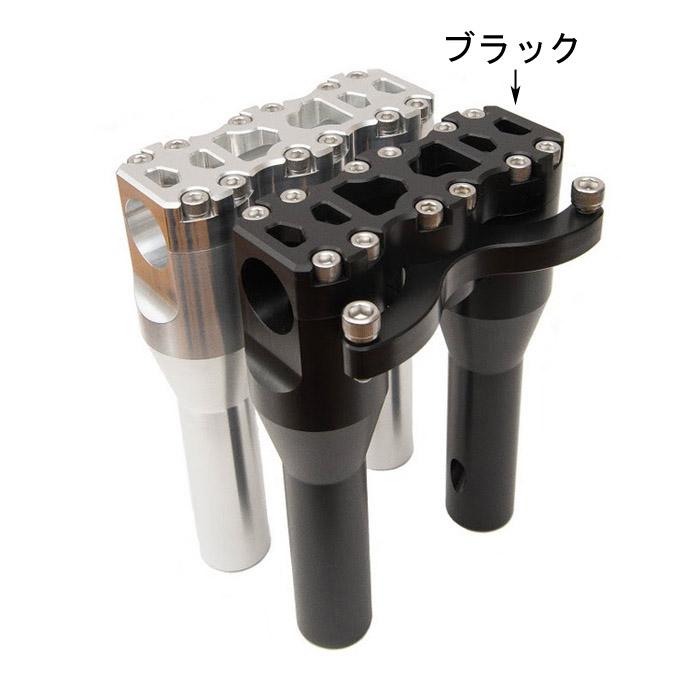 【ハードケース・パフォーマンス】 7インチライザー ブラック HCP-007-B