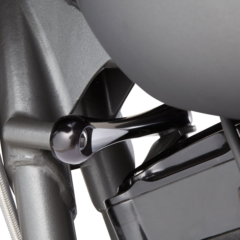 【アレンネス】 エンジン・スタビライザーリンク ブラック 2009~2020 ツーリング 03-661
