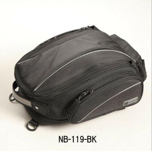 【デグナー】 NB-119 アジャスターシートバッグ ブラック NB-119-BK