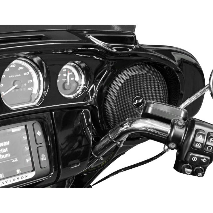【J&M】バットウィングフェアリング・スピーカーグリルセット 2014~2020 ツーリング HGRL-BW14