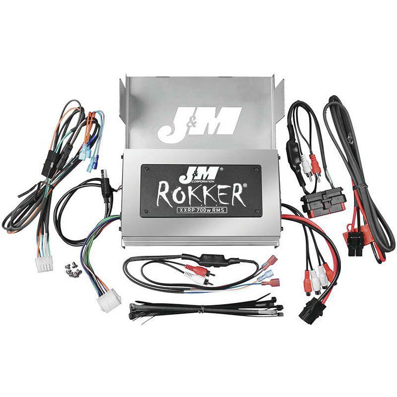 【J&M】ROKKERシリーズ 700w 4chアンプキット 2006~2013 FLHX 217033