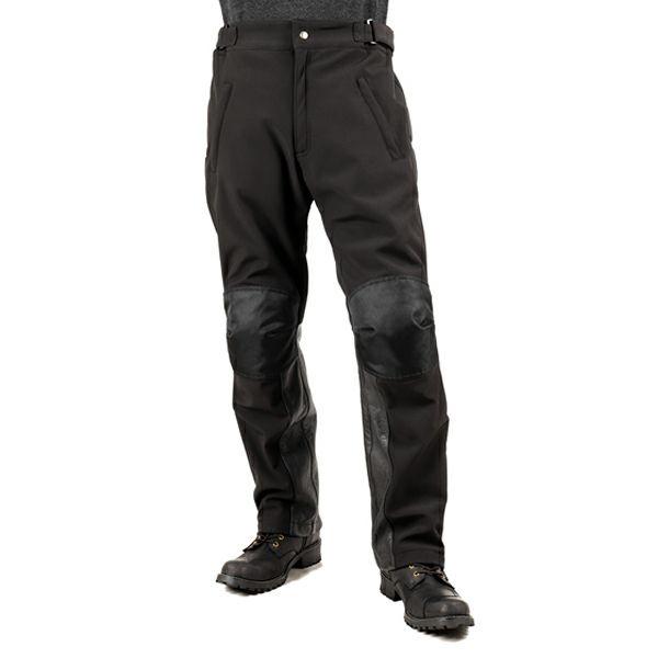 【デグナー】SEL-DP-29-BK メンズ・ソフトシェル・オーバーパンツ ブラック
