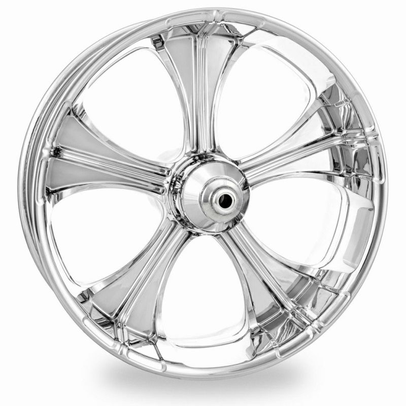 【PM】1552-7825P-SYN-CH SYNDICATE 18 x 8.5 リア クローム 2018~2020 FXBR/S、FLFB/S