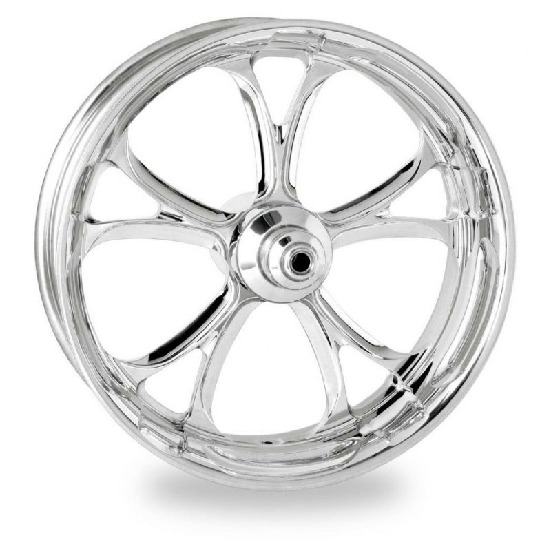 【PM】1202-7806R-LUX-CH LUXE 18 x 3.5 フロント クローム 2014~2018 トライク