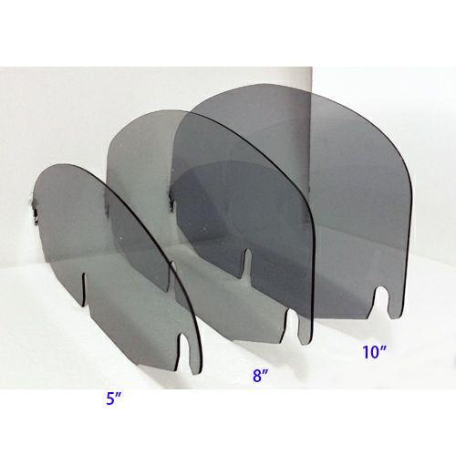 TSU バットウィングフェアリング用フラットタイプ・ウィンドシールド スモーク