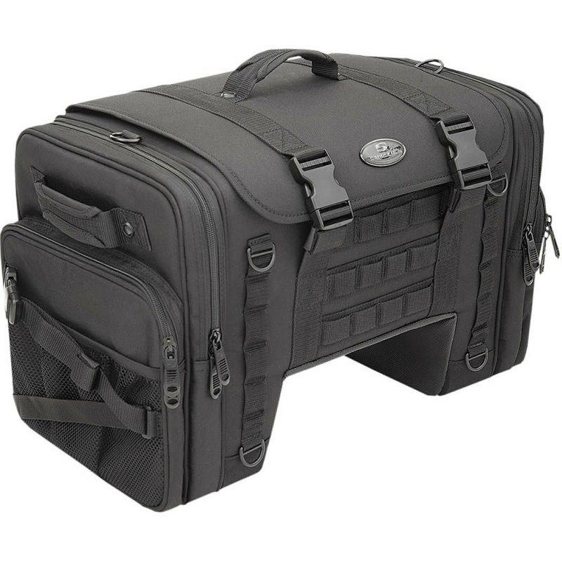 【サドルマン】3516-0270 TS3200DE TACTICAL デラックスクルーザー テールバッグ