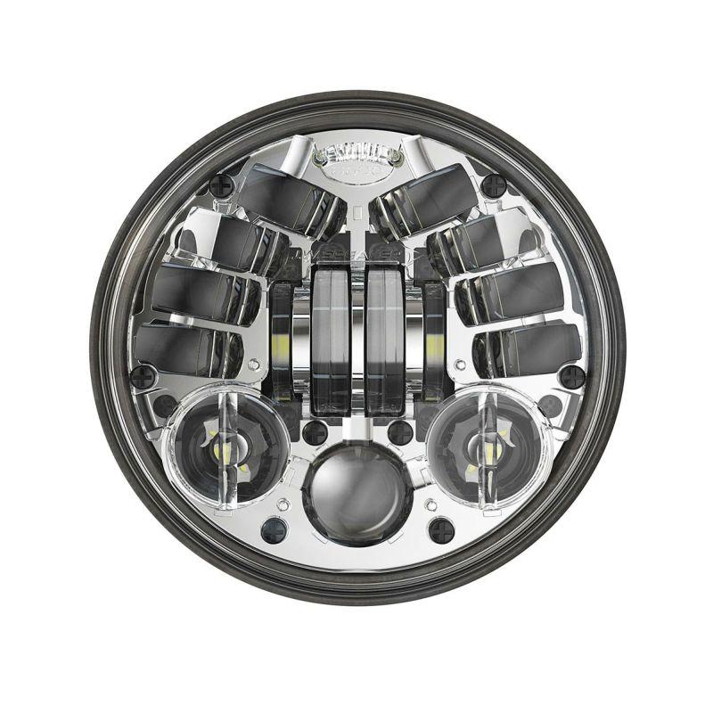 【J.W. スピーカー】2001-1780 アダプティブ2 5.75インチ LEDヘッドライト クローム