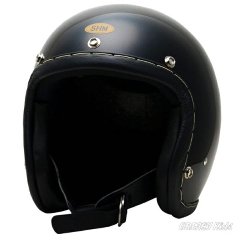 DIN ランキングTOP10 MARKET SHM SEL-HSHH101-BL セール HAND ブラック STITCH ジェットヘルメット