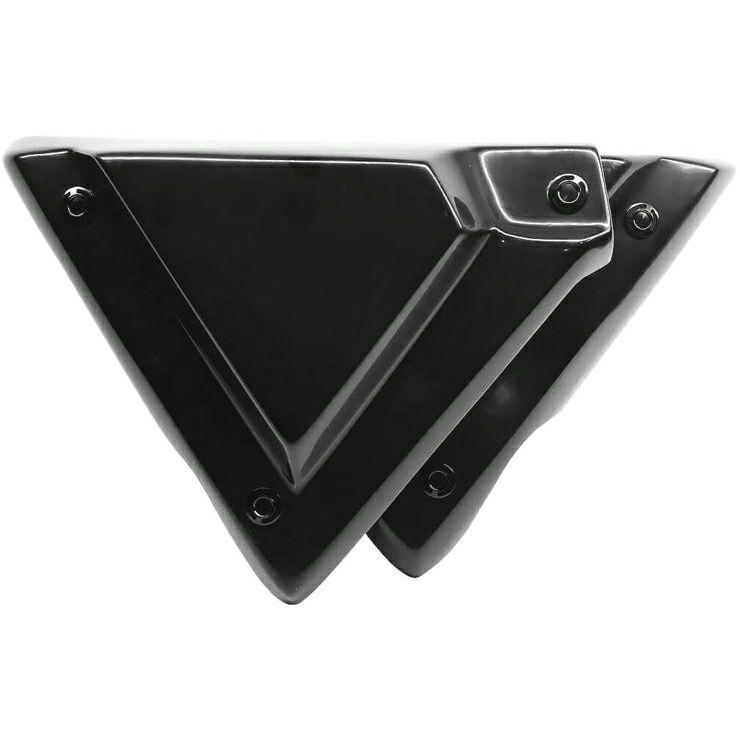 【エピックモト】ネイキッドシリーズ トリプルX OEMスタイルサイドカバー ブラック 2009~2020 ツーリング EM0003