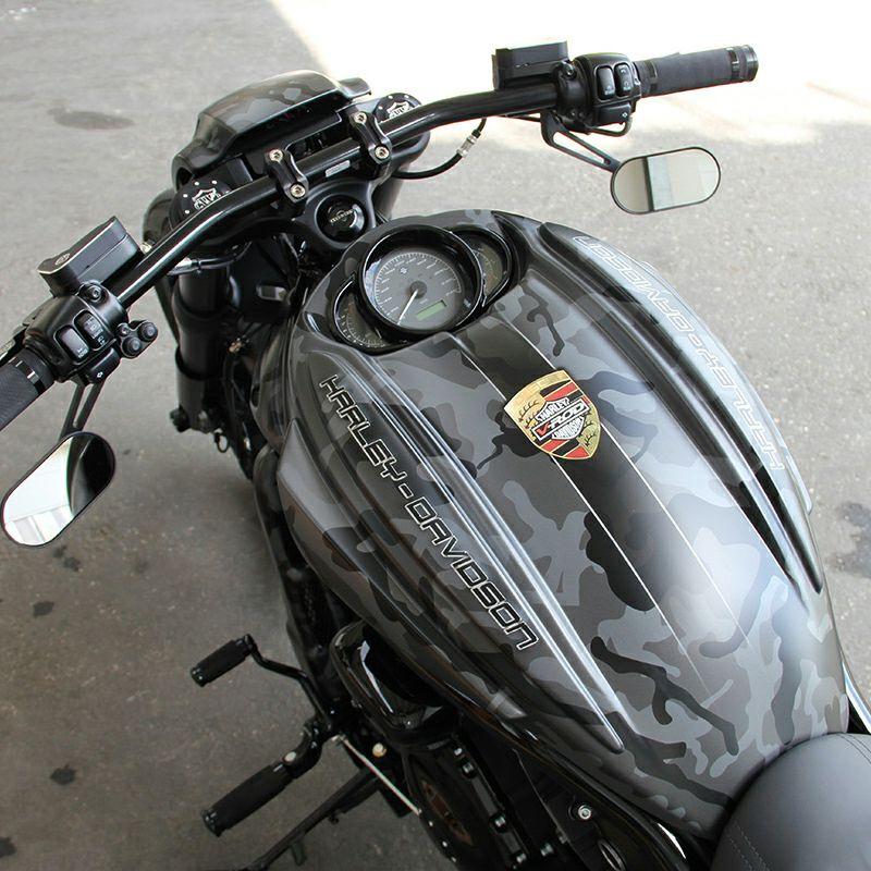 【カルトヴェルク】カスタム・エアボックスカバー 2002~2006 V-Rod HD-ROD006