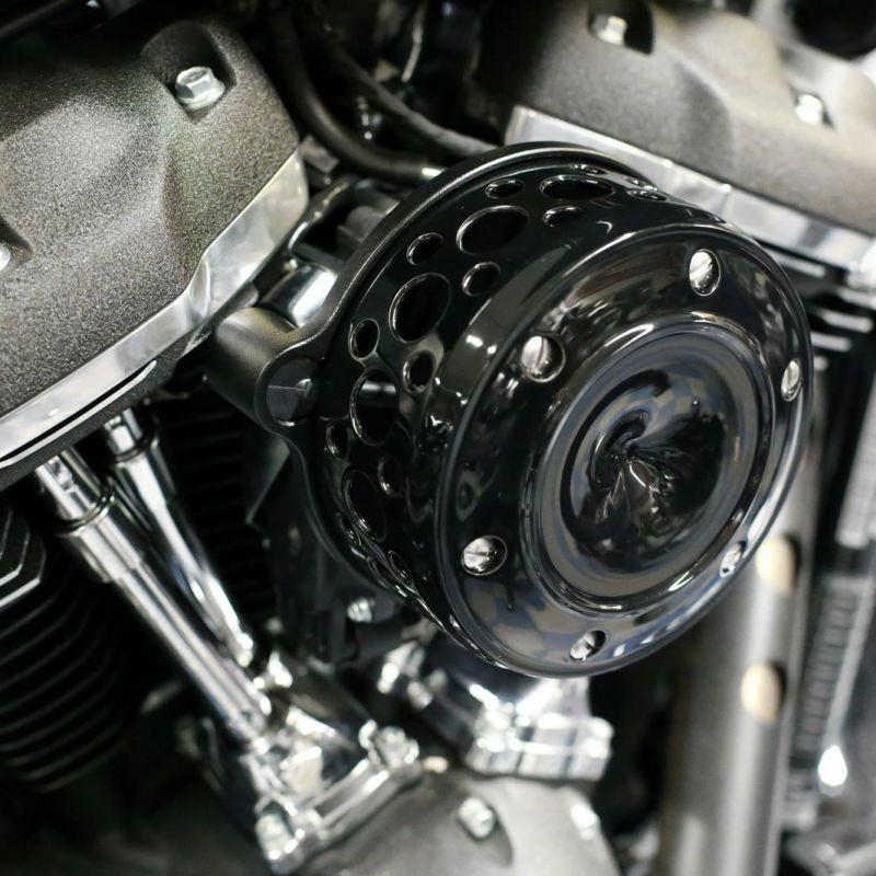 【サンダーバイク】パワーフィルターキット グランドクラシック ブラック 2018~2020 ソフテイル等 96-74-190