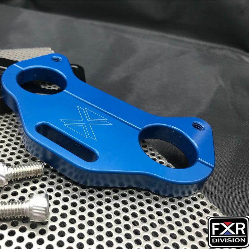 【FXR ディビジョン】ガンクリップ・ゲージマウント ブルー GUN-CLIP-GMT-BL