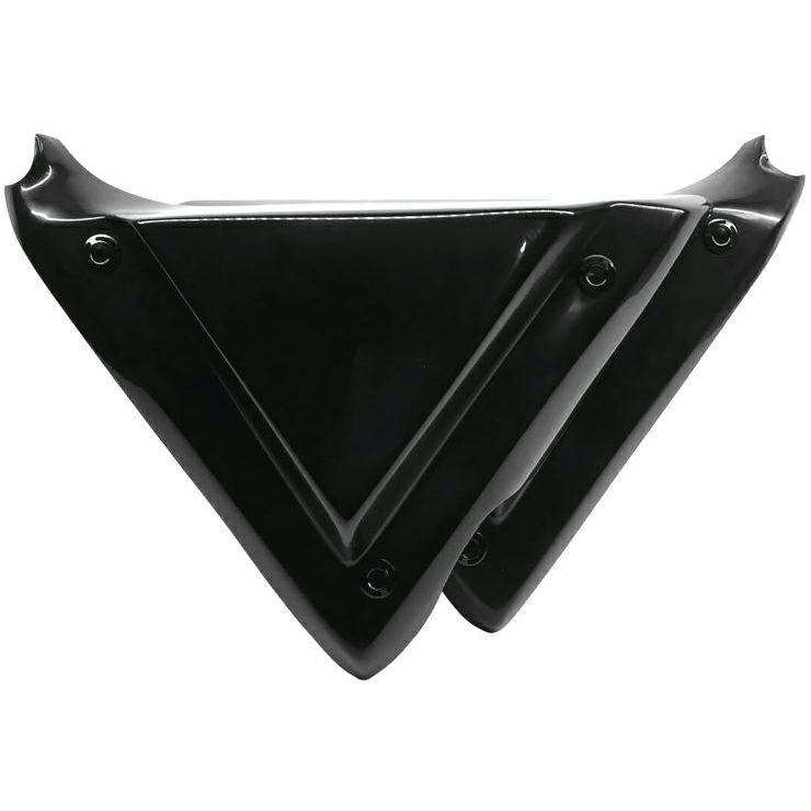 【エピックモト】ネイキッドシリーズ トリプルX ネイキッドサイドカバー ブラック 2009~2020 ツーリング EM0005