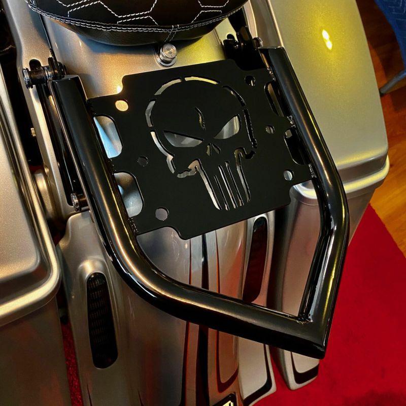 【スーサイドチョッパーズ】デタッチャブルラゲッジラック パニッシャー 2009~2020 ツーリング RACK-PUNISHER
