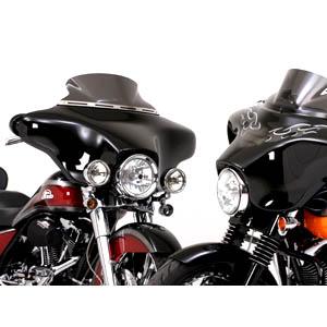 【ナショナル サイクル】 Vストリーム・ウインドシールド ダークスモーク ウルトラロー(184mm) FLHT/FLHX N20405
