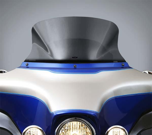 【ナショナル サイクル】 Vストリーム・ウインドシールド ライトスモーク ロー(273mm) FLHT/FLHX N20406