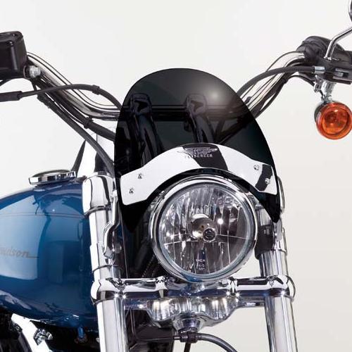 【ナショナル サイクル】 フライスクリーンLS・ウィンドシールド ダークスクリーン FXDB/FXDWG/XR1200/VRSC N2535 N2535