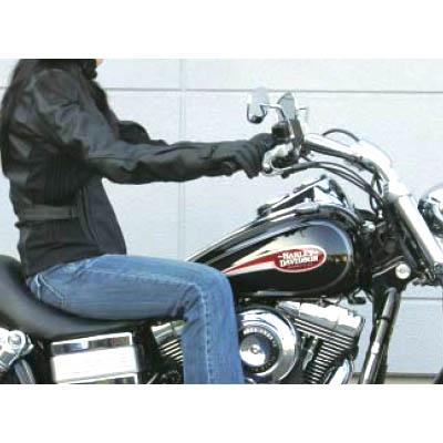プルバック・ハンドルバー 2008~2012XL1200N ブラック