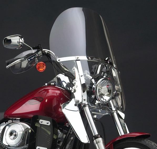 【ナショナル サイクル】 スイッチブレード 2-UP ウインドシールド デタッチャブル 2006~2017 FXDWG、2013 FXSBSE N21133
