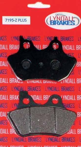 LYNDALL BRAKES ゴールドプラスブレーキパッド '00~'07 フロント・リヤ用