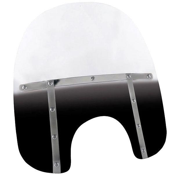 【メンフィスシェード】 FAT ウインドシールド グラデーションブラック 17インチ MEM3211