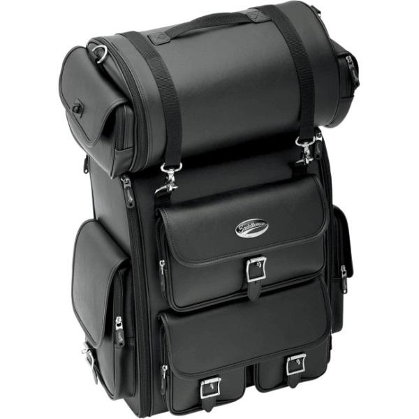 【サドルマン】 EX2200 デラックス シーシーバー ツーリングバッグ 3515-0096