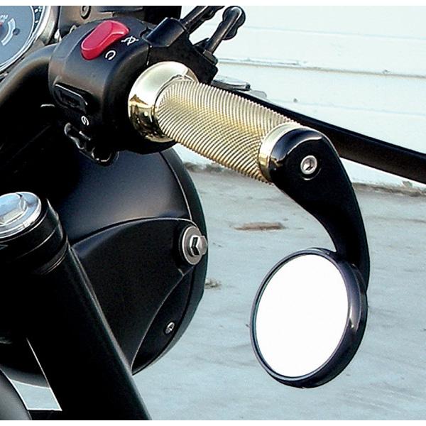 Todd's Cycle バーエンド シューターミラー ブラック