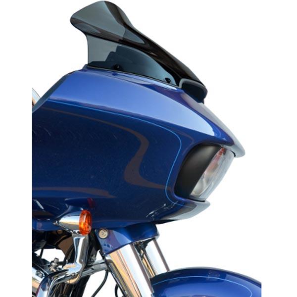 【クロック ワークス】 FLAREスポーツウィンドシールド 14インチ ダークスモーク 2015~2020 FLTRX/S、FLTRU/SE 2310-0570