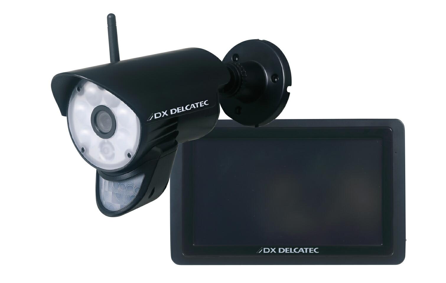 防犯カメラ ワイヤレス 監視カメラ 家庭用 屋外 210万画素 ワイヤレスカメラ SDカード 録画 セット WSC610S セット DXアンテナ