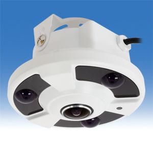 防犯カメラ 220万画素 全方位監視カメラ 360° WTW-ADR25HJ