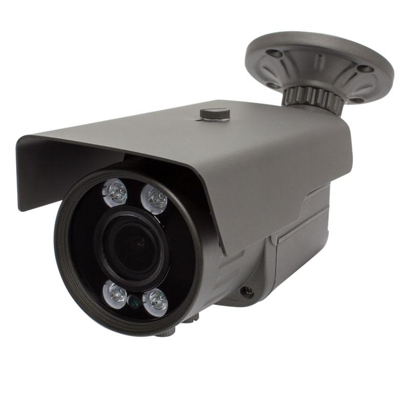 ネットワークカメラ 220万画素 屋外軒下防水型 PoE対応 赤外線IPカメラ WTW-PRP83HE