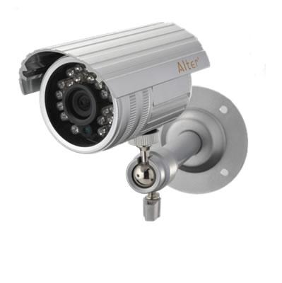 アルミ+防水構造で屋外での耐久性がアップした高機能防犯カメラ 屋外用防犯カメラ 当店一番人気 AT-3100 在庫あり キャロットシステムズ 夜間対応 監視カメラ Alter+