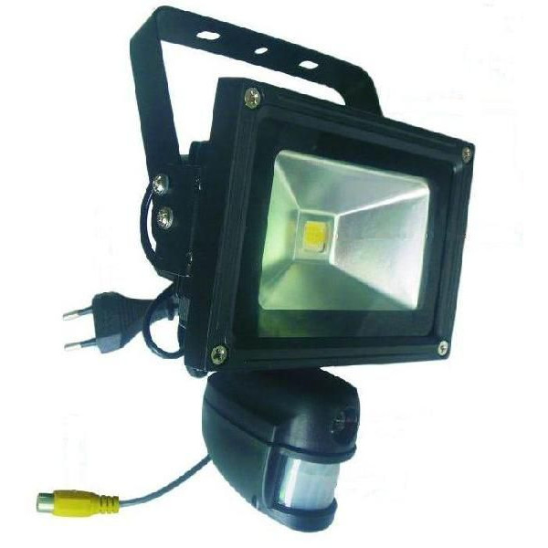 SDカード録画機内蔵 LEDセンサーライト付 防犯カメラ(3510990162)