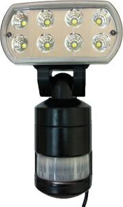 フカダックFS-960高輝度LED追尾式センサーライト (1W LED×8個)